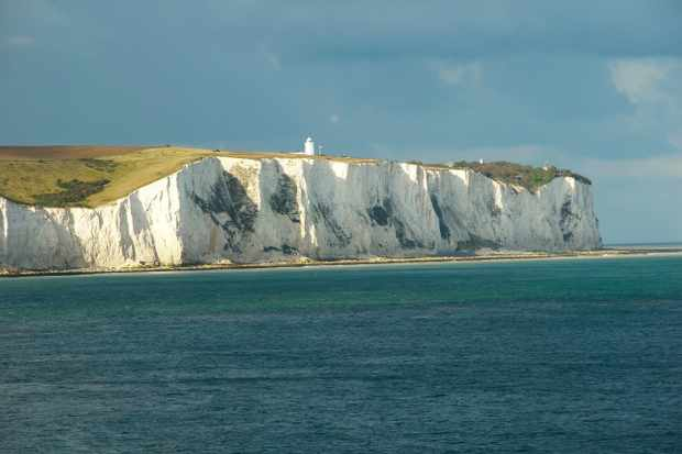 The white cliffs of Dover. (Photo by Don Klumpp via Getty Images)