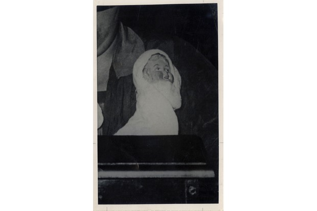 This ectoplasmic infant is said to have been 'Peggy', a frequent visitor to Helen Duncan's séances and, alongside the trusty 'Albert', her spirit guide.