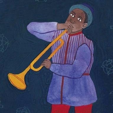 John Blanke. (Illustration: Rose Wilkinson for BBC History Magazine)