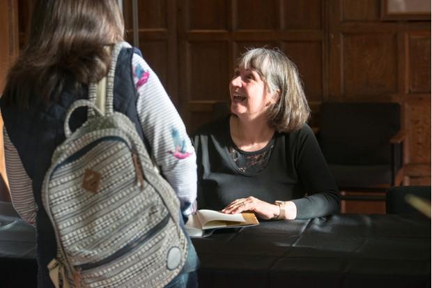 Joyce Tyldesley. (Photo by Mark Bickerdike for BBC History Magazine)