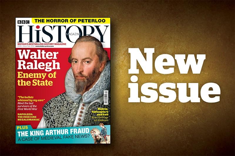 BBC History Magazine December 2018 issue.