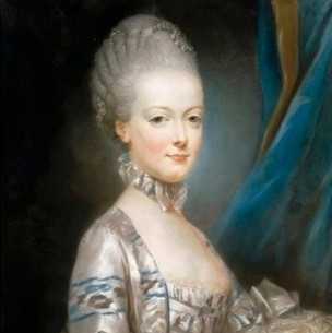 A portrait of Marie Antoinette by artist Joseph Ducreux, c1769. (Credit: Fine Art Images/Heritage Images/Getty Images)