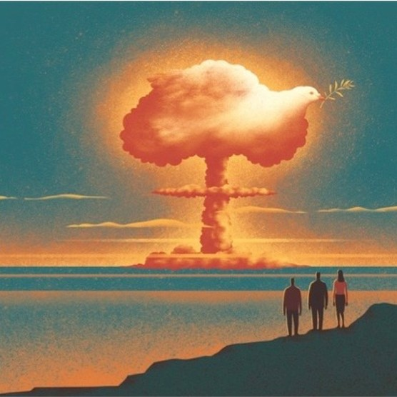 Have nuclear weapons helped to maintain peace? (Illustration by Davide Bonazzi)