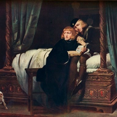 The 'Princes in the Tower': Edward V and his younger brother Richard, Duke of York, disappeared in mysterious circumstances following the death of their father, King Edward IV. (The Print Collector/Print Collector/Getty Images)