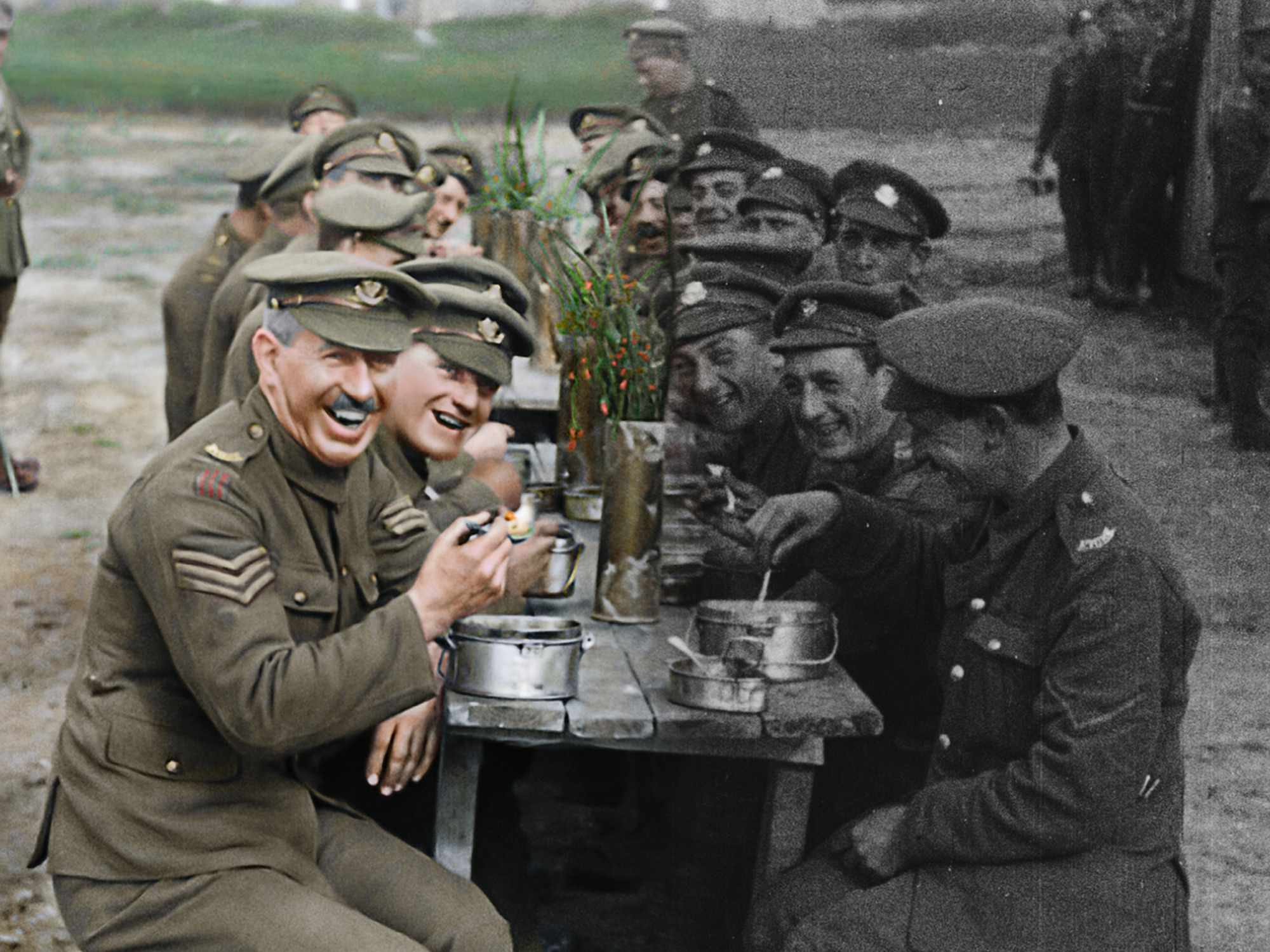They Shall Not Grow Old. (Image Credit: BBC/Wingnut Films with Peter Jackson/IWM)