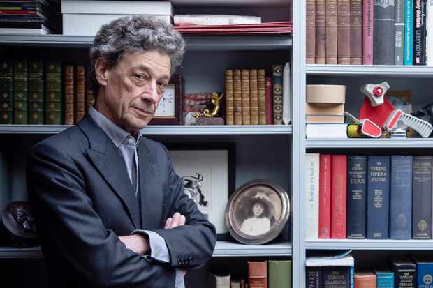 "Adam Zamoyski, photographed in London. ""We're brought up on a whole ant-heap of myths about Napoleon. The apocryphal stories that swirl around him are legion,"" he says. (Photography by Frank Monks for BBC History Magazine)"