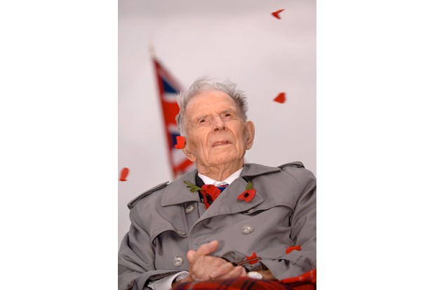 Henry John 'Harry' Patch, the last Tommy, in 2007. In his final years, he opened up about the war for the first time. (Photo by Alamy)