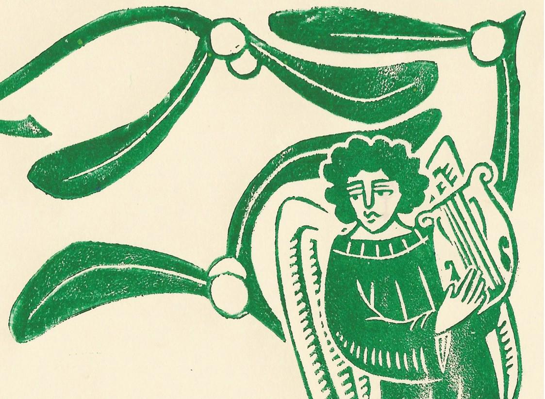 How did Henry VIII and Elizabeth I celebrate Yuletide? (Illustration by Becca Thorne for BBC History Magazine)