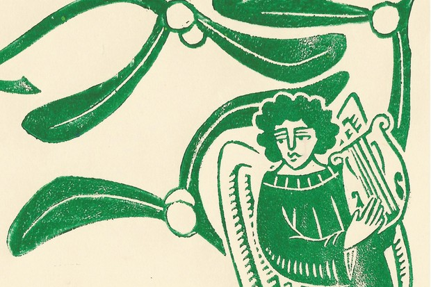 How did Henry VIII and Elizabeth I celebrate Yuletide? (Illustration by Becca Thorne for BBC History Magazine)