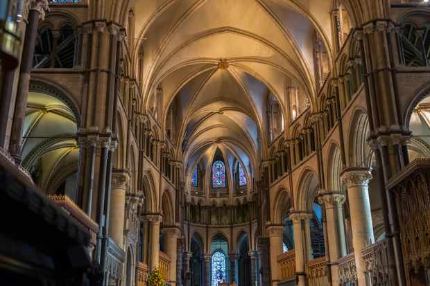 Canterbury Cathedral facts and history: how big, old is the
