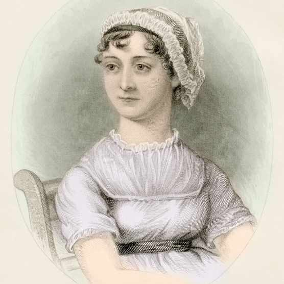 Jane Austen 1775 To 1817. English Novelist. (Photo by: Universal History Archive/UIG via Getty Images)