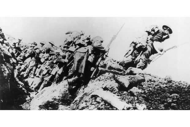 Every newspaper in Britain carried a similar account of the events at the Somme, that casualties were 'not heavy', explains Derek Taylor. (Photo by Morgan-Wells/Hulton Archive/Getty Images)