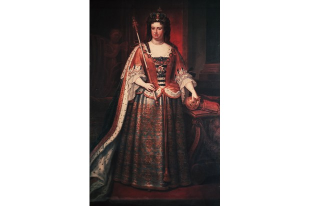 Anne, queen of Great Britain and Ireland (1664–1714) was the second daughter of James II and granddaughter of Charles I. (Photo by Hulton Archive/Getty Images)