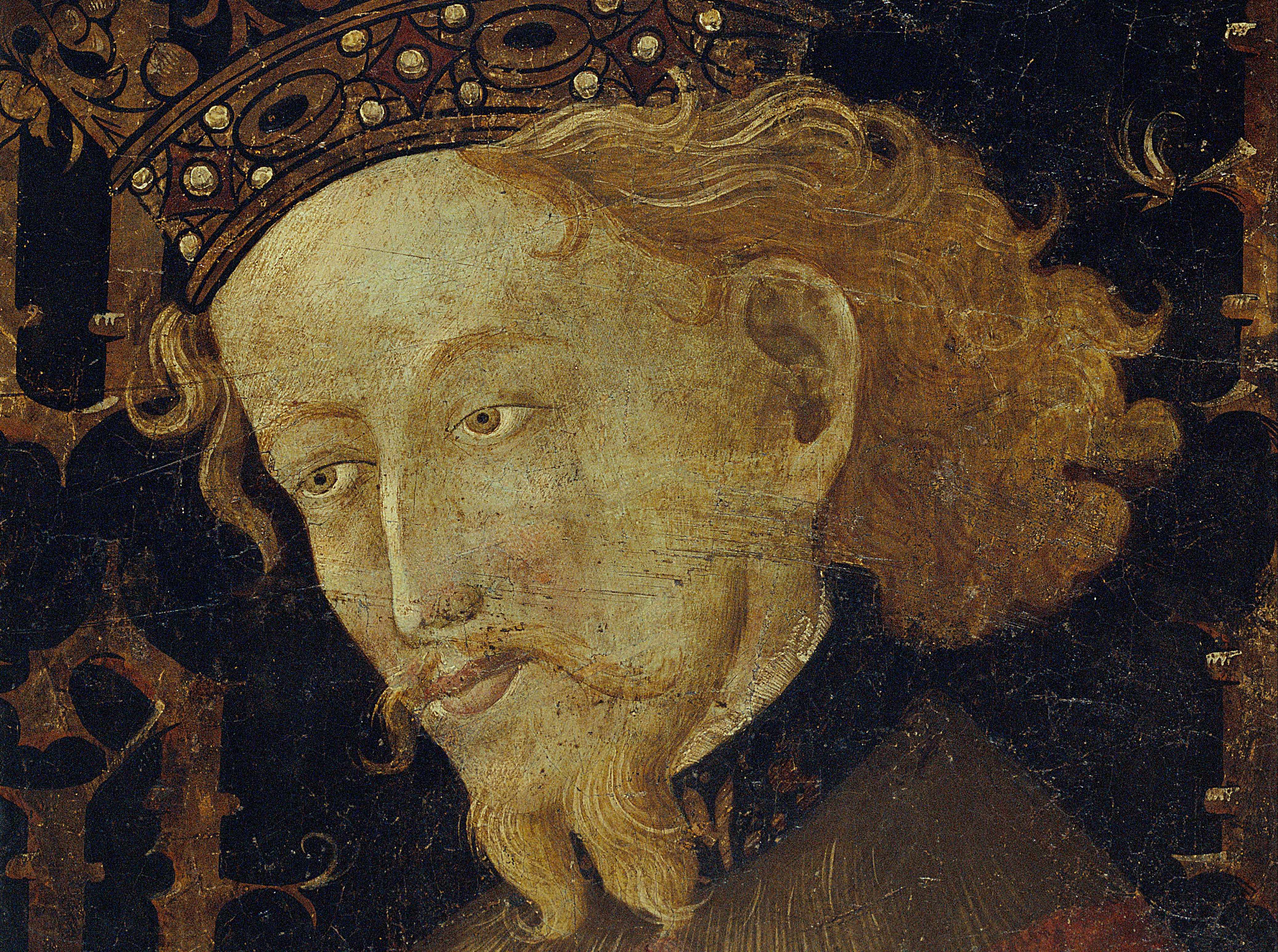 James I of Aragon, depicted in a 15th-century portrait. A king dubbed 'the Conqueror' invested enormous energy in projecting an image of power and authority. But behind the facade lay an insecure ruler who feared failure. (Photo by Fine Art Images/Heritage Images/Getty Images)