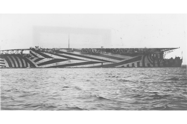 The modern aircraft carrier owes its existence to the breakneck speed of technological development during the First World War, says Nick Hewitt. HMS Argus was converted from an ocean liner during the conflict. (Photo by: Robert Hunt Library/Windmill books/UIG via Getty images)