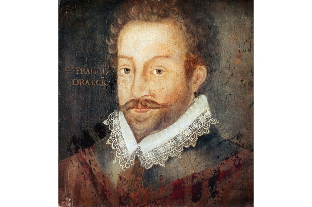 Portrait of Sir Francis Drake. Drake was more interested in booty than fighting when meeting the Spanish Armada, says Robert Hutchinson. (Picture by De Agostini / C. Bevilacqua / Getty Images)