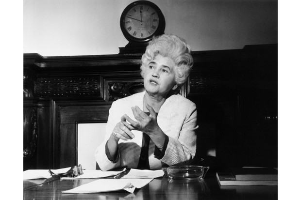 Scottish Labour politician Jennie Lee. (Photo by Keystone/Hulton Archive/Getty Images)
