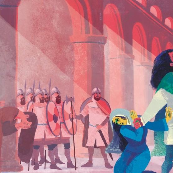Illustration by Luke Waller for BBC History Magazine.