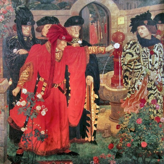 red rose of normandy plot