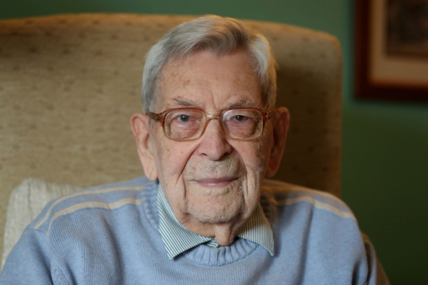 Bob, pictured this year, remembers the terror during the Zeppelin raids on Hull. (Photo by Steve Parsons/PA Images/Testimony Films)
