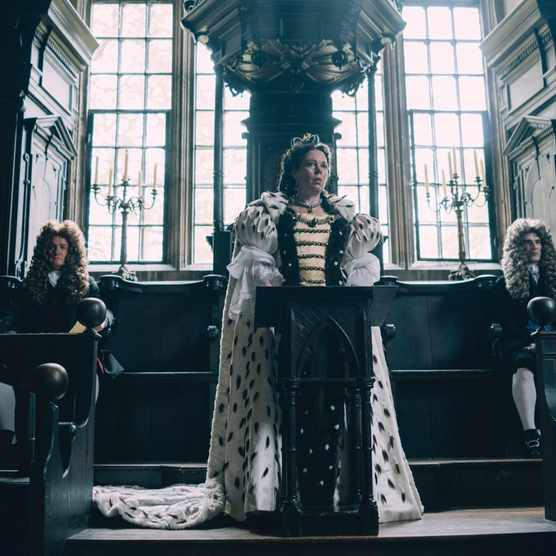 Olivia Colman as Queen Anne in 'The Favourite'. (Photo by Twentieth Century Fox/Entertainment Pictures)