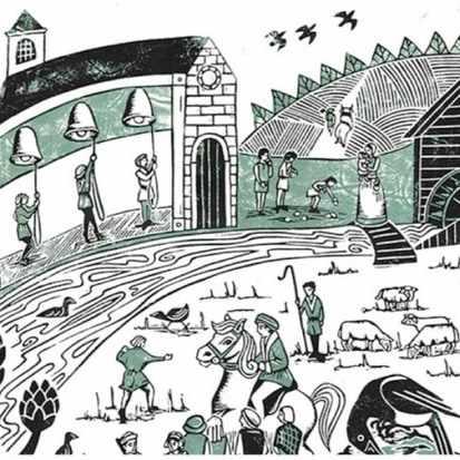 (Illustration: Becca Thorne for BBC History Magazine)