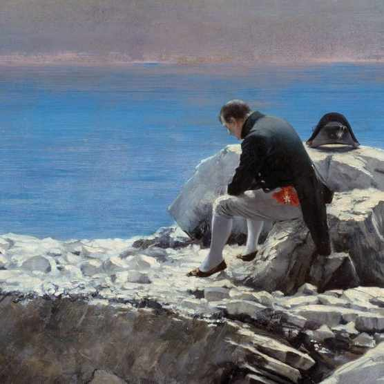 Painting of Napoleon in St Helena