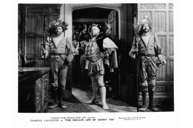 Charles Laughton in a scene from the film 'The Private Life Of Henry VIII.', 1933. (Photo by United Artists/Getty Images)