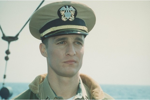 Actor Matthew McConaughey in 'U-571'. (Photo By Getty Images)