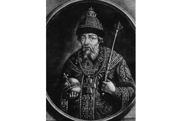 c1580, Ivan IV, Tsar of Russia from 1533, known as 'Ivan the Terrible'. (Photo by Rischgitz/Getty Images)
