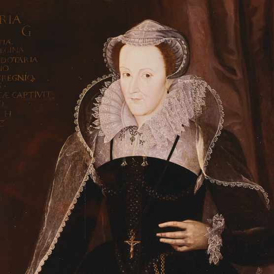MARY STUART, QUEEN OF SCOTLAND (1542-1587). PAINTING ATTRIBUTED TO P.OUDRY, 1578. (Photo by  Gustavo Tomsich/CORBIS/Corbis via Getty Images)