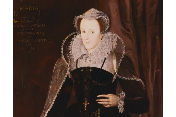 A 16th-century painting of Mary Stuart. The former Scottish queen was held under house arrest in England for nearly 20 years. (Photo by  Gustavo Tomsich/CORBIS/Corbis via Getty Images)