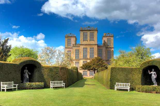 Hardwick Hall in Derbyshire, England. (Photo by Getty Images)