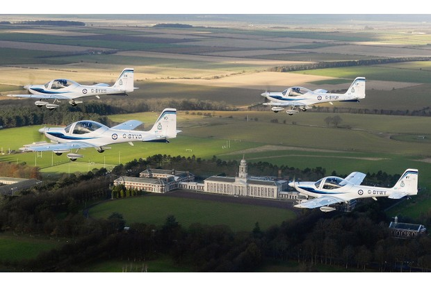 The RAF College at Cranwell conducted officer training, with all cadets undertaking pilot instruction. (Pool Photo RAF - Handout/Getty Images)