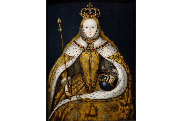A c1600 portrait of Queen Elizabeth I. As cousin to Mary, Queen of Scots, the two women corresponded for many years. (Photo by Robert Alexander/Getty Images)