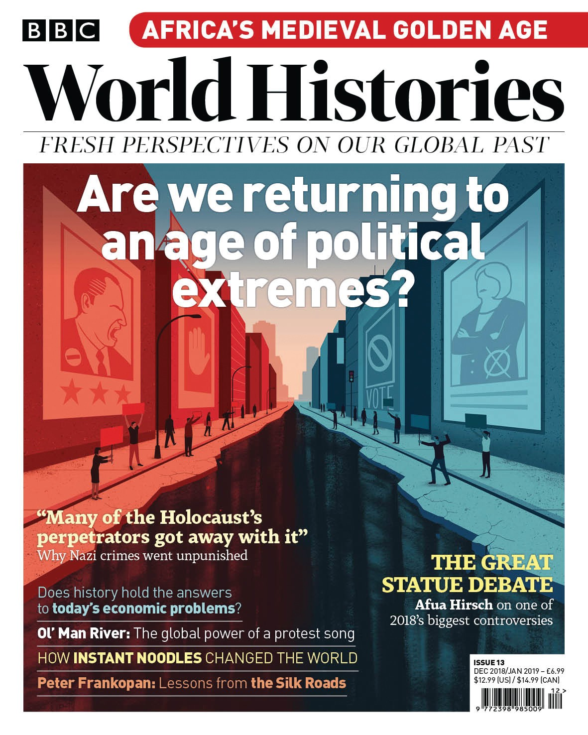 Issue 13 of BBC World Histories magazine