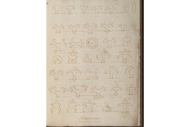 17th-century mince pie designs.