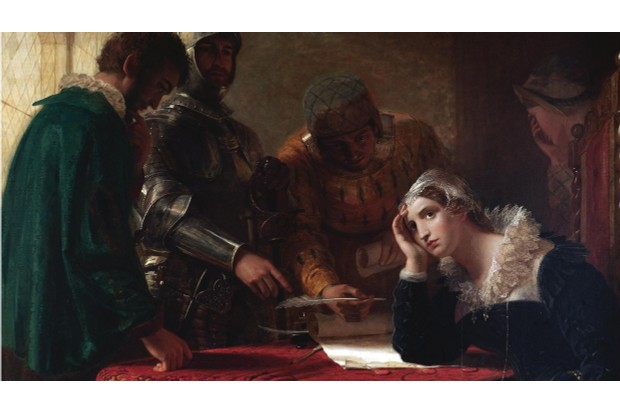 Mary was forced to sign her abdication or face execution. (Photo by Fine Art Images/Heritage Images/Getty Images)
