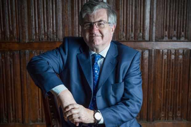 Richard Evans. (Photo by Fran Monks for BBC History Magazine)