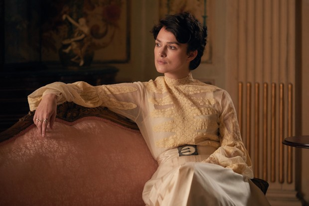 Keira Knightley as Sidonie-Gabrielle Colette. Her 'Claudine' novels struck a chord with many young women in turn-of-the-century France. (Photo by Colette film/Lionsgate)