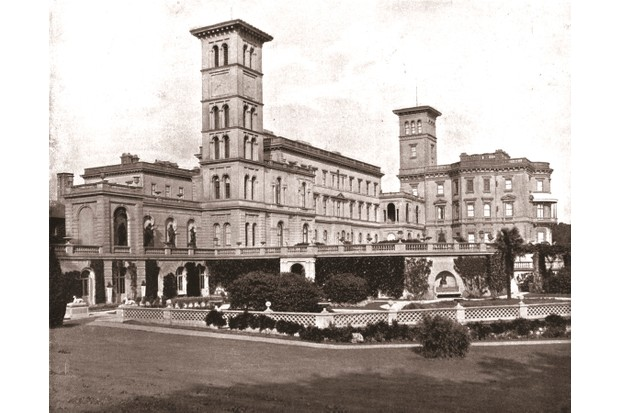 Osborne House, Isle of Wight, where Queen Victoria spent her final days. The queen died at the residence on 22 January 1901. (Photo by The Print Collector/Getty Images)
