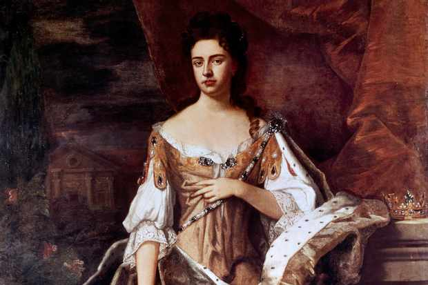 Sir Godfrey Kneller's portrait of Anne Stuart. Following the 1707 Acts of Union, she would be queen of Great Britain and Ireland. (Photo by Getty Images)