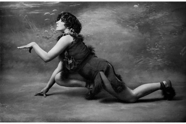 Colette - 1906 as Le Petit Faune in Le Desir, La Chimere et l'Amour at theatre Mathurins. Her performance caused a scandal. Very revealing costume and provocative lines. Real name: Sidonie-Gabrielle Colette, 28 January 1873 ? 3 August , 1954 (Photo by Culture Club/Getty Images)