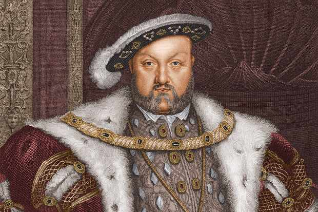 Circa 1540, Portrait of Henry VIII of England (1491-1547). Reigned 1509-47. Executed three wives and Thomas More, made union of England and Wales. (Photo by Stock Montage/Getty Images)