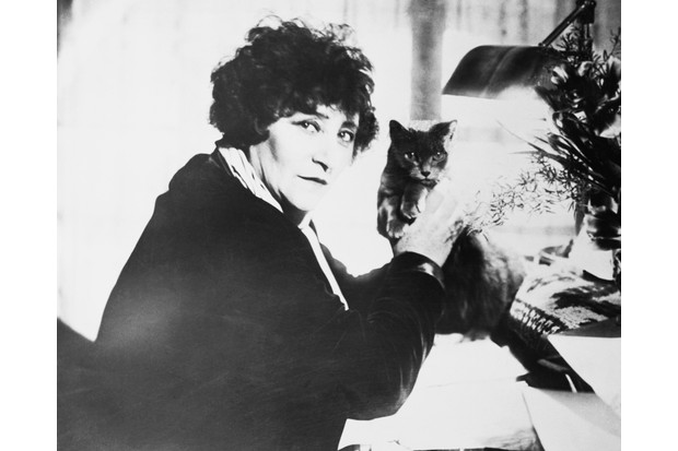 Upon her death in 1954, Sidonie-Gabrielle Colette was the first French female writer to be given a state funeral. (Photo by Bettmann/Getty Images)