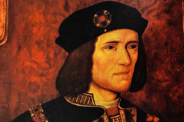 """As for the accusation that he killed the princes in the Tower, I think he was framed,"" says Robert Lindsay of Richard III, shown in a 16th-century portrait. (Photo by Universal History Archive/UIG via Getty Images)"