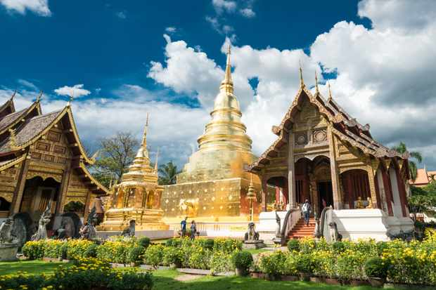 Wat Pra Singh is among the most visited temples in Chiang Mai, Thailand. (Photo by Getty Images)