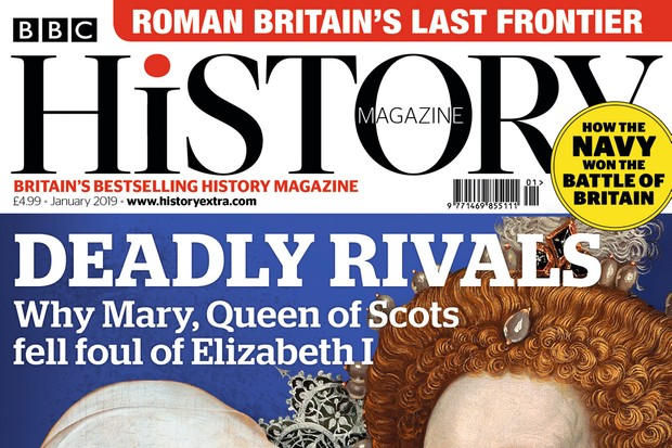 January 2019 issue of BBC History Magazine