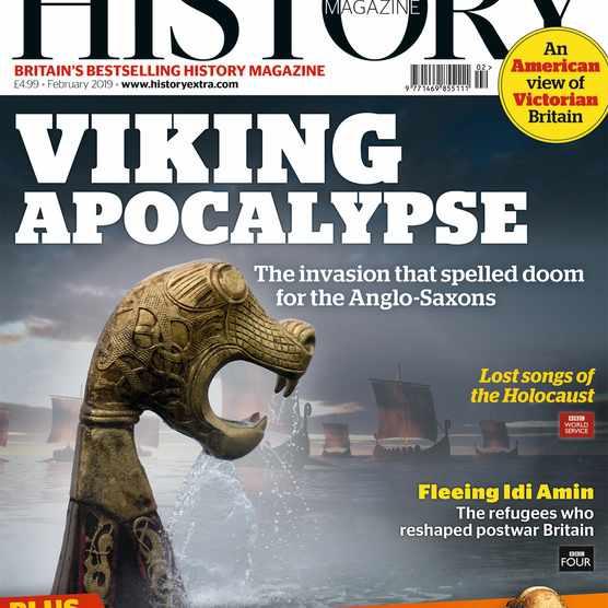 The February 2019 issue of BBC History Magazine