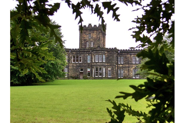 Dobroyd Castle, West Yorkshire. I'll only marry you if you promise to build me a castle, the weaver Ruth Stansfield is believed to have told John Fielden in the latter half of the 19th century. (Photo by William Warby)